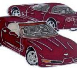 Corvette Lapel Pin, 50th Anniversary, 2003