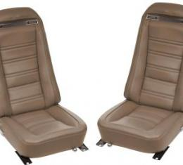 Corvette America 1972 Chevrolet Corvette Leather Seat Covers Leather/Vinyl Original