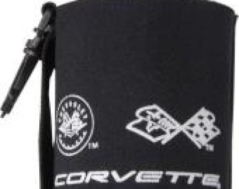 Corvette Large Bottle Huggie with Logo