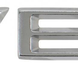 Trim Parts 1974-1975 Corvette Rear Bumper Letter Set 5001