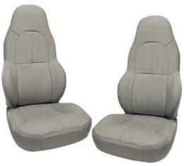 Corvette America 1997-2004 Chevrolet Corvette Leather Seat Covers Standard