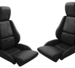 Corvette America 1984-1988 Chevrolet Corvette Leather Like Seat Covers Standard No Perforations