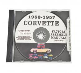 Corvette Assembly Manual CD, 1953-1982