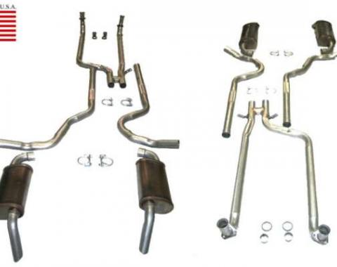 Corvette Dual Exhaust System with Magnaflow Mufflers, 1980-1981