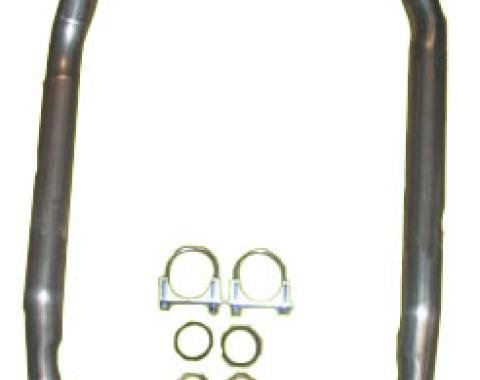 """Corvette Exhaust Pipes, 2"""" to 2 1/2"""" Front, 4 Speed, 1966-1974"""