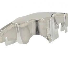 Corvette Ignition Shield, Upper, Small Block, 1966-1967