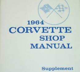 Corvette Service Manual Supplement, 1964