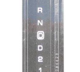 Corvette Automatic Shifter Indicator Lens, 1984-1989