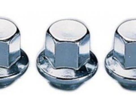 Corvette Aluminum Wheel Lug Nuts, 1976-1982