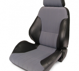 Procar Rally Seat, with Headrest, Left, Velour