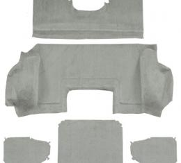 ACC  Chevrolet Corvette Hardtop Rear Cutpile Carpet, 1999-2000