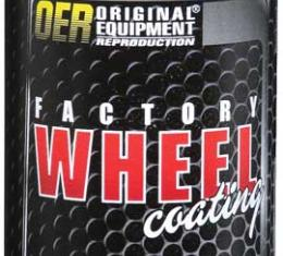 "OER Charcoal Gray Metallic ""Factory Wheel Coating"" Wheel Paint 16 Oz Can K89330"