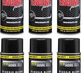 OER Pontiac Blue Aqua Classic Blend Engine Paint Case Of 6 16 Oz Cans *K89221