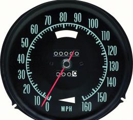 OER 1968 Corvette Speedometer Without Speed Warning 6480991