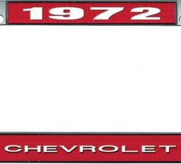 OER 1972 Chevrolet Style #1 - Red *LF2237201C