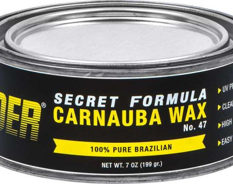 OER Secret Formula No. 47 Premium Hard Carnauba Paste Wax - 7 Oz. Can K89440