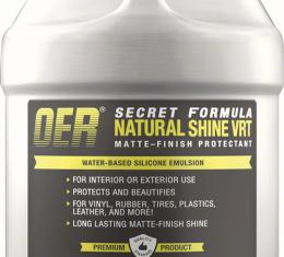 OER Secret Formula 1 Gallon Natural Shine Matt Finish Protectant K89481
