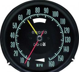 OER 1969 Corvette Speedometer With Speed Warning 6492697