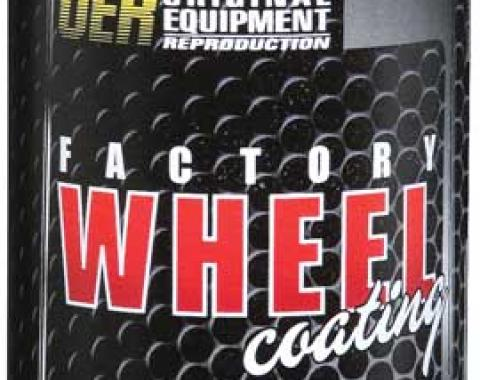 "OER Slate Silver ""Factory Wheel Coating"" Snowflake Wheel Paint 16 Oz Can K89355"