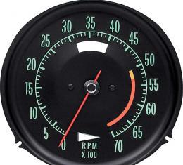 OER 1968 Corvette Tachometer 5300 Redline 6468710