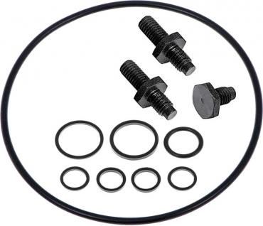 OER 1962-2002 GM & Mopar - Saginaw Power Steering Pump Reservoir Installation Kit - Standard Finish 1253570