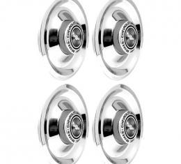 OER 4 Piece Chrome Disc Brake Rally Wheel Cap Set *WR1014C