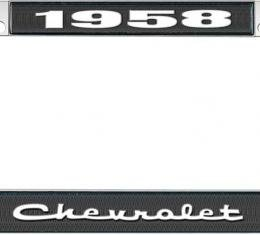 OER 1958 Chevrolet Style #2 - Black *LF2235802A