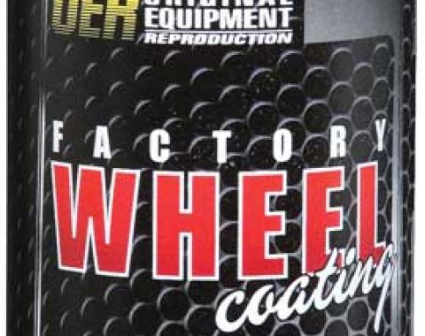 "OER Argent Silver ""Factory Wheel Coating"" Wheel Paint 16 Oz Aerosol Can K89320"