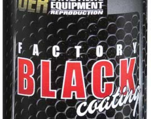 "OER ""Factory Black"" Low Gloss Black Paint - 16 Oz Aerosol Can K89541"