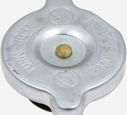 OER 1965-75 Radiator Cap 15 lbs - With Flat Rivet Design 861050