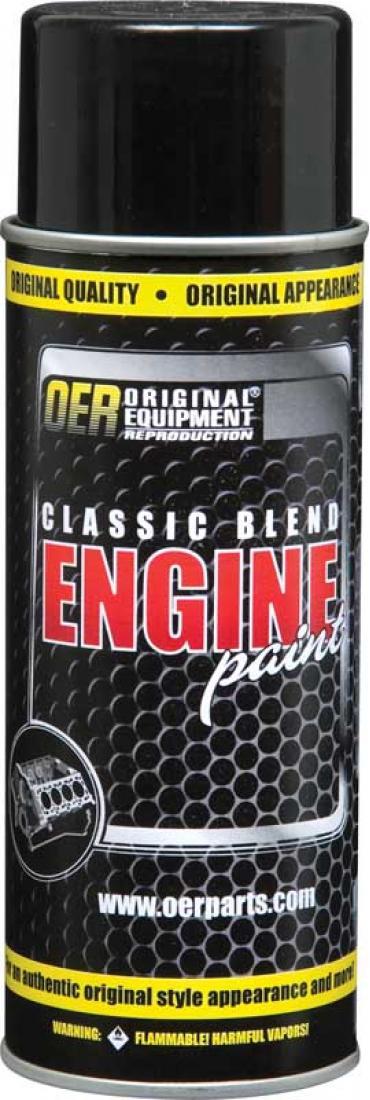 OER 1966-70 Pontiac Light Blue Metallic Classic Blend Engine Paint - 16 Oz Can K89200
