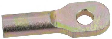 """OER 2-1/2"""" Brake Pedal Rod Extension with 3/8"""" hole - Zinc Plated 153662"""