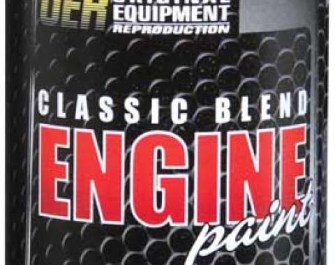 OER 1966-70 Pontiac Light Blue Metallic Classic Blend Engine Paint - 16 Oz Can K89200