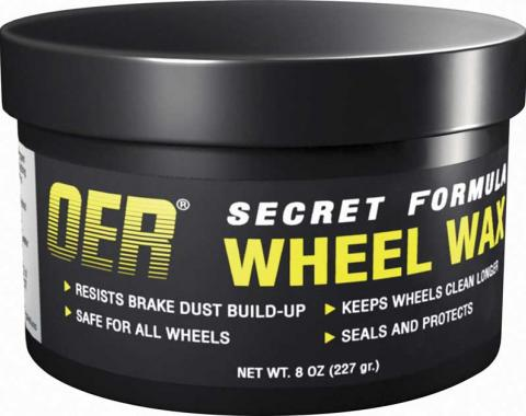 OER Secret Formula Wheel Wax 8oz K89486