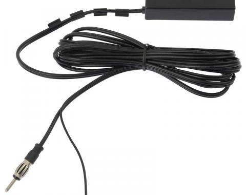 OER Amplified Electronic AM/FM Universal HIDE-A-WAY Antenna SA20