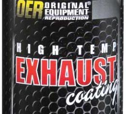 OER Silver Hi-Temp Exhaust Coating Aerosol Can - Net Weight 12 Oz. K89555