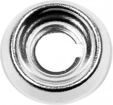 OER 61-64 GM Dash Knob Ferrule Bezel - Aluminum - Wiper, Headlight, Vent - Various Models 3820532