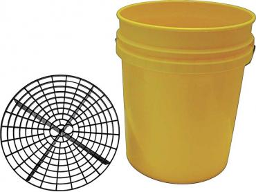 OER Grit Guard 5 Gallon Yellow Bucket With Grit Guard K89751