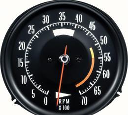 OER 1972-74 Corvette Tach 5500 Red Line 6468711W