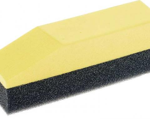 "OER 1-1/2"" X 5-1/2"" Foam Applicator with Yellow Foam Grip for Dressing K89460"