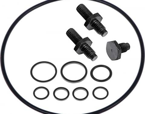 OER 1962-2002 GM & Mopar - Saginaw Power Steering Pump Reservoir Installation Kit - Standard Finish 1253570
