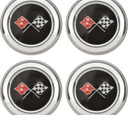 OER 1973-79 Corvette Wheel Center Cap Set of 4 748637