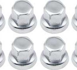 """OER 7/16""""-20 Chrome Lug Nut for Factory GM Aluminum Wheel - Set of 20 - Service Replacement N9801"""