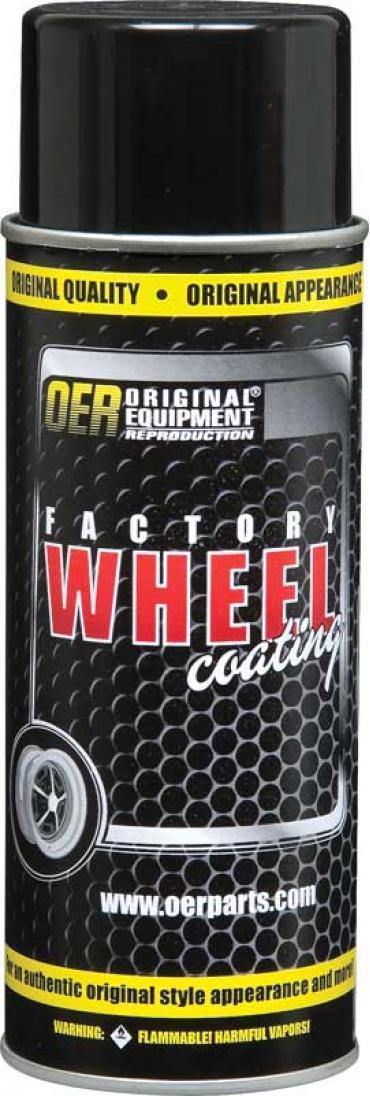 "OER Slate Silver ""Factory Wheel Coating"" Snowflake Wheel Paint 16 Oz Can K89355"
