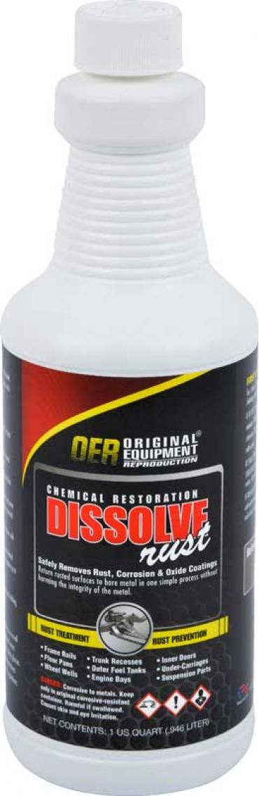OER Rust Dissolver 1 Quart Bottle K86110