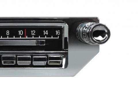 Custom Autosound 1953-1957 Chevrolet Corvette Slidebar Radio