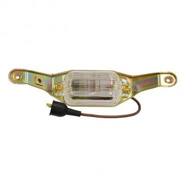 Corvette License Plate Light Assembly, With Fiber Optic, 1968-1971