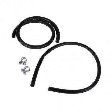 Corvette Expansion Tank Hose & Clamp Set, 1968-1972