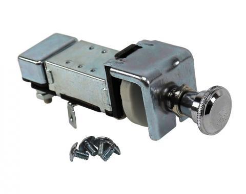 Corvette Headlight Switch, 6V, 1953-1955