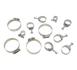 Corvette Hose Clamp Kit, 350, 1971-1972